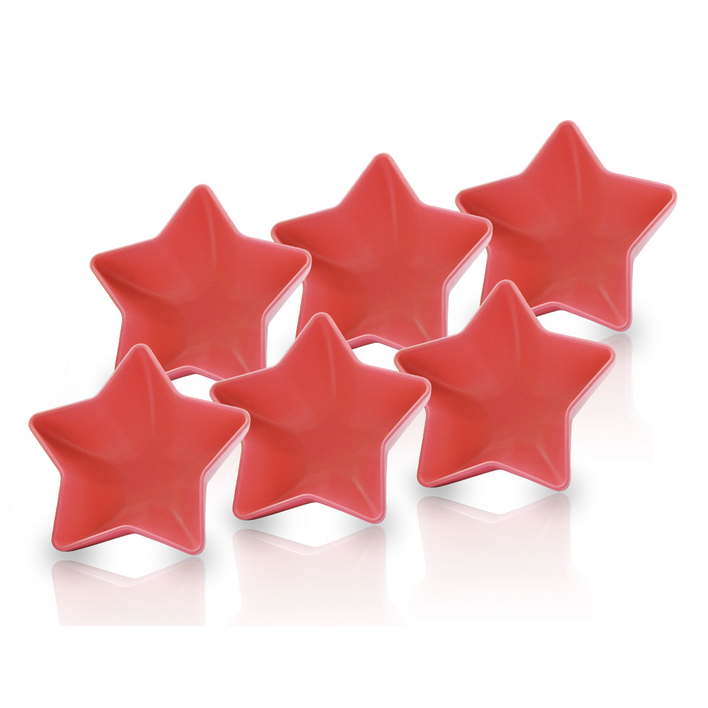 Star Bowl Set - 6 pieces