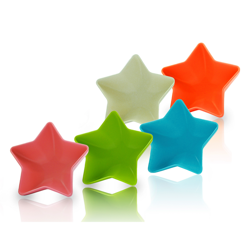 Star Bowl Set (Multi-Color) - 5 pieces