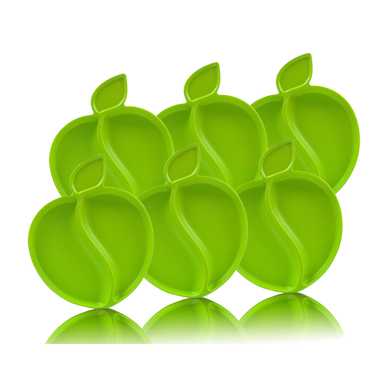 Apple Plate Set - 6 pieces