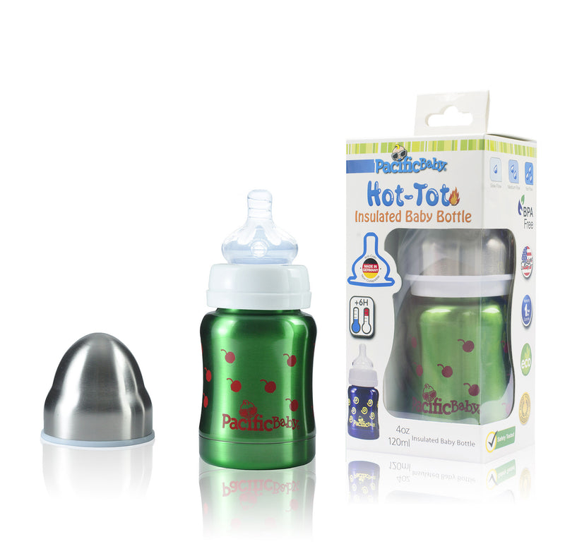 Hot Tot 4oz Insulated Baby Bottle - Pacific Baby