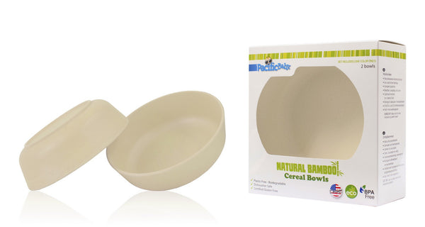 Cereal Bowls - 2 pieces - Pacific Baby