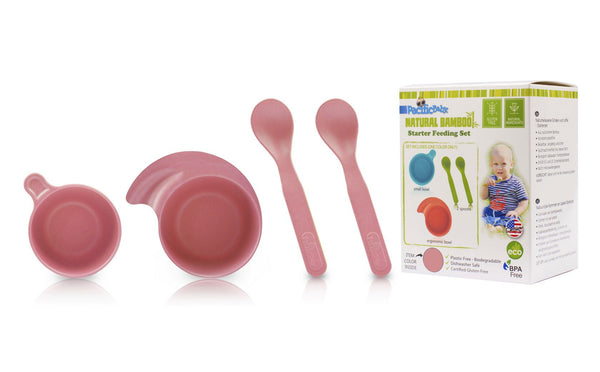 Starter Bamboo Feeding Set - Pacific Baby