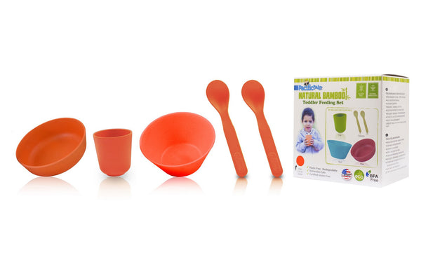 Toddler Bamboo Feeding Sets - Pacific Baby