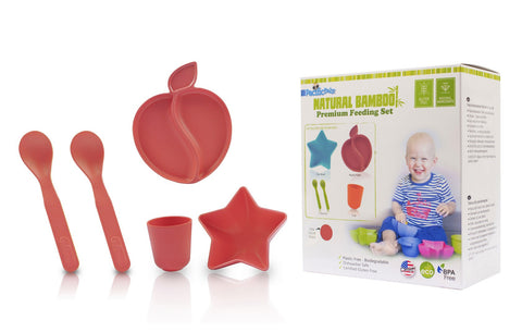 Premium Bamboo Feeding Sets - Pacific Baby