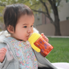 Hot-Tot Stainless Steel Insulated 4 oz Infant Baby Eco Feeding Bottle