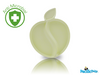 Natural Bamboo Feeding - Apple Plate Cream