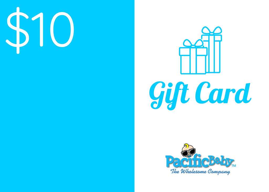 Gift Cards ($10, $25, $50, & $100) - Pacific Baby