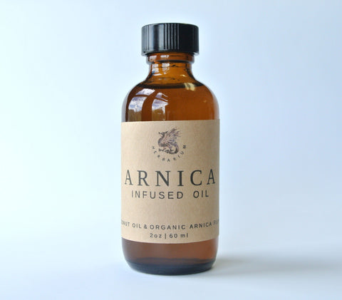 Arnica Infused Oil - Dragon Herbarium