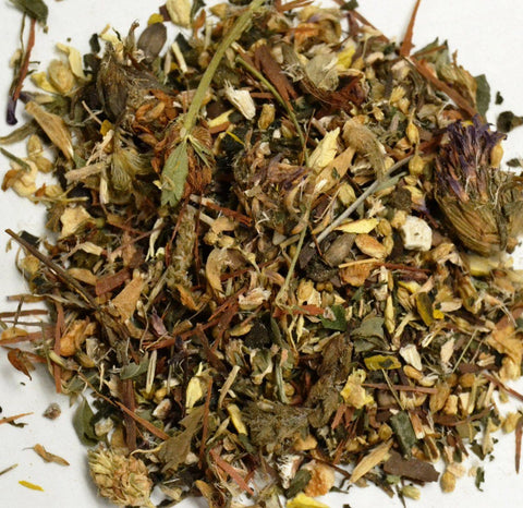 Blood Cleanser Tea by Mountain Goddess Herbs - Dragon Herbarium