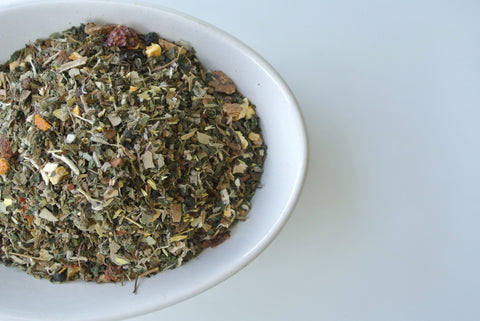 Ruby Red Antioxidant Tea by Mountain Goddess Herbs - Dragon Herbarium