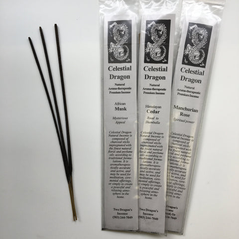 Celestial Dragon Natural Incense - Dragon Herbarium
