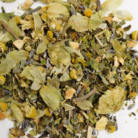 Sleep Well Tea by Mountain Goddess Herbs - Dragon Herbarium