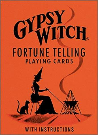 Gypsy Witch Fortune Telling Playing Cards - Dragon Herbarium