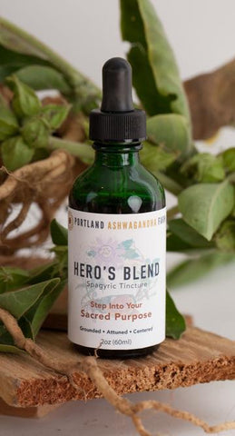 2 oz Hero's Blend Tincture - Dragon Herbarium