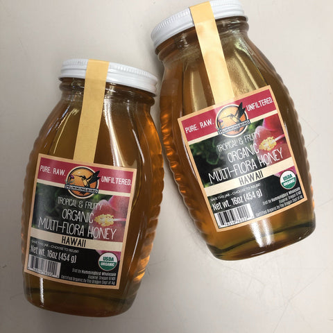 Organic Multi-Flora Honey 16 oz