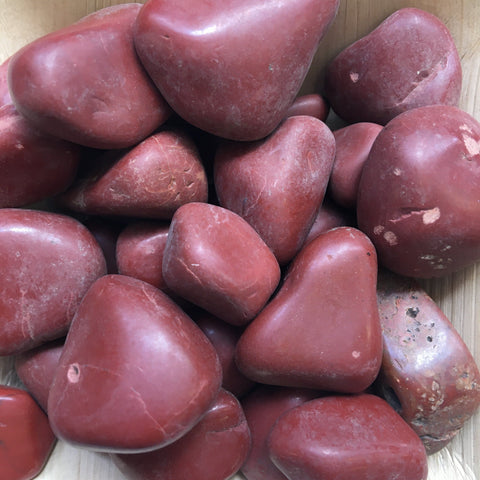 Red Jasper Tumbles (from Oregon)