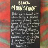 Black Moonstone Raw