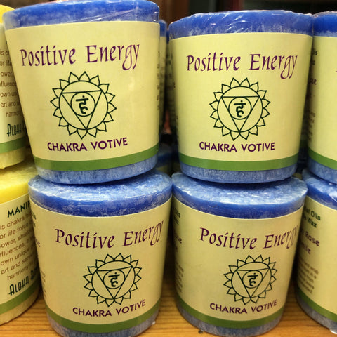Positive Energy Chakra Votive Candles