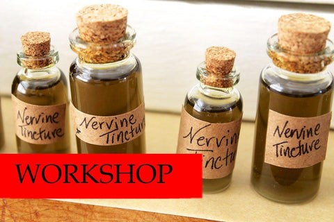 Tincture Making Workshop - June 29th - Dragon Herbarium