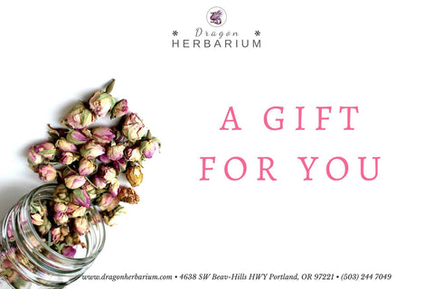 Gift Card - Dragon Herbarium
