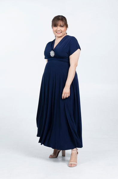 Plus Size Infinity Maxi Dress
