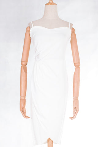 Cami Pleats Detail Bodycon Dress with FREE Washable Care Mask