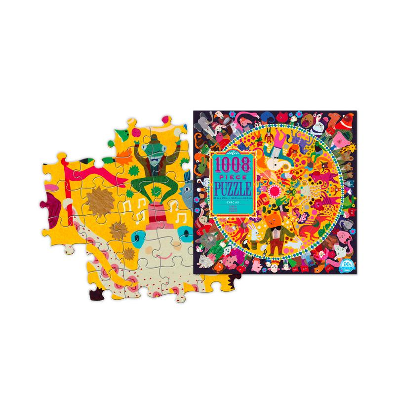 Circus 1008 Piece Puzzle Eeboo Puzzles at Little Earth Nest Eco Shop