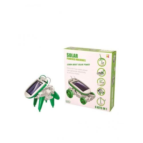 6 in 1 Solar Powered Machines Experiment Kit Keycraft General at Little Earth Nest Eco Shop