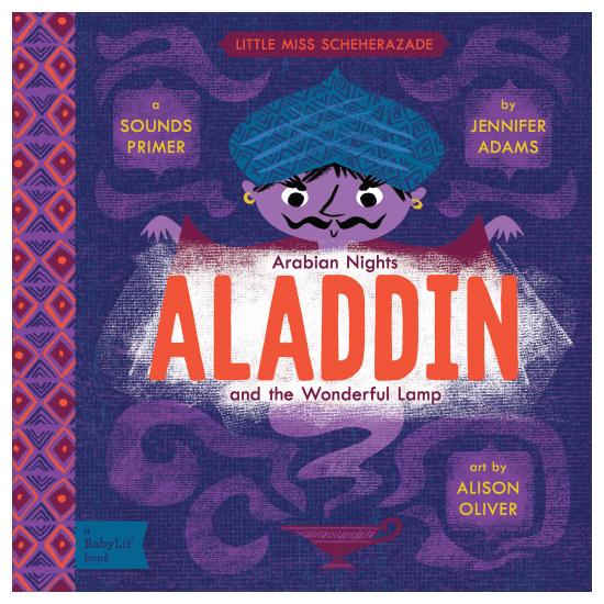 Aladdin Baby Board Book Babylit Books at Little Earth Nest Eco Shop