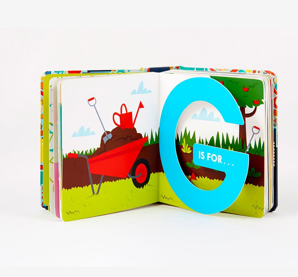 Alphablock Book Little Earth Nest Books at Little Earth Nest Eco Shop