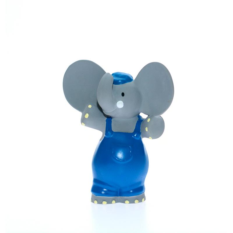 Alvin the Elephant Squeaker Teether Toy