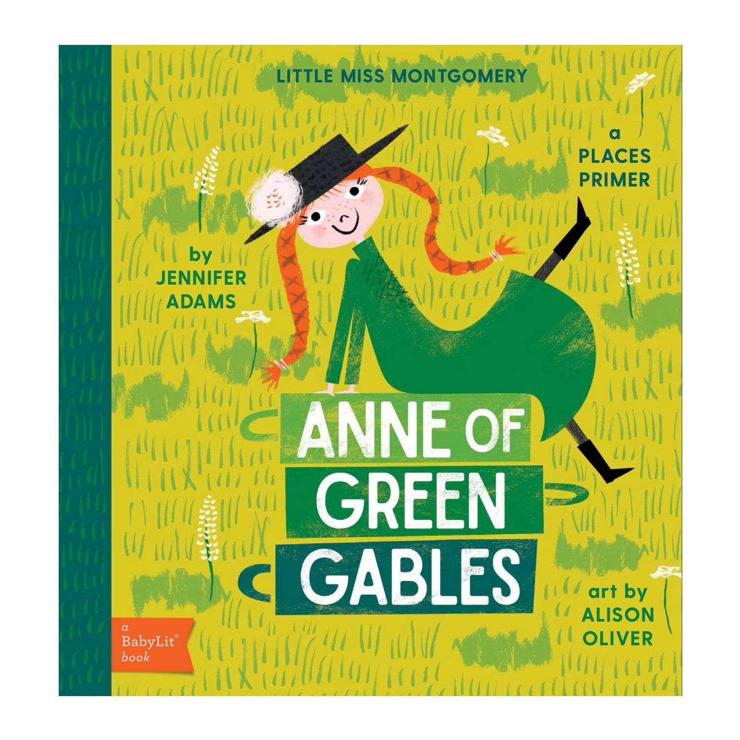Anne of Green Gables Baby Board Book Babylit Books at Little Earth Nest Eco Shop