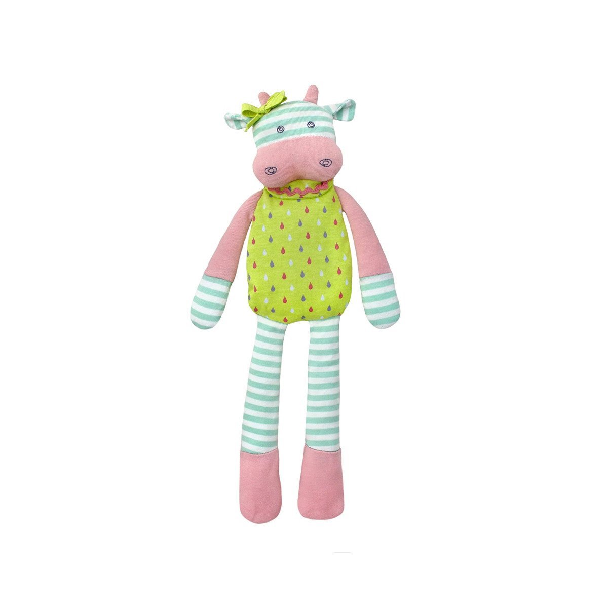 Apple Park Organic Plush Toy Apple Park Organic Baby Gifts Belle Cow at Little Earth Nest Eco Shop