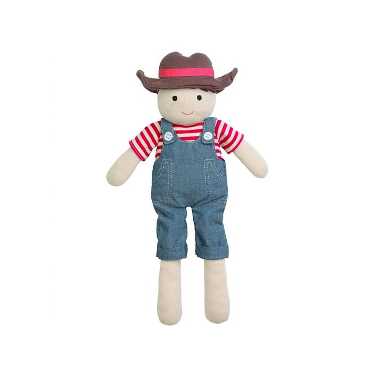 Apple Park Organic Plush Toy Apple Park Organic Baby Gifts Barnyard Billie at Little Earth Nest Eco Shop
