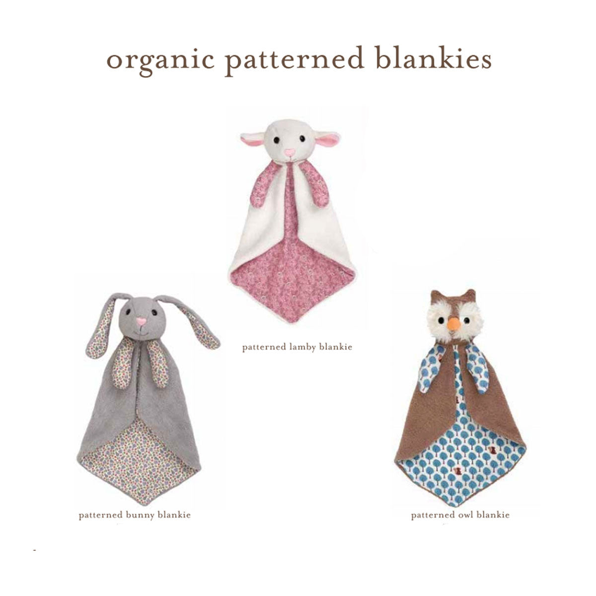 Apple Park Organic Cuddle Blankie Apple Park Organic Baby Gifts at Little Earth Nest Eco Shop