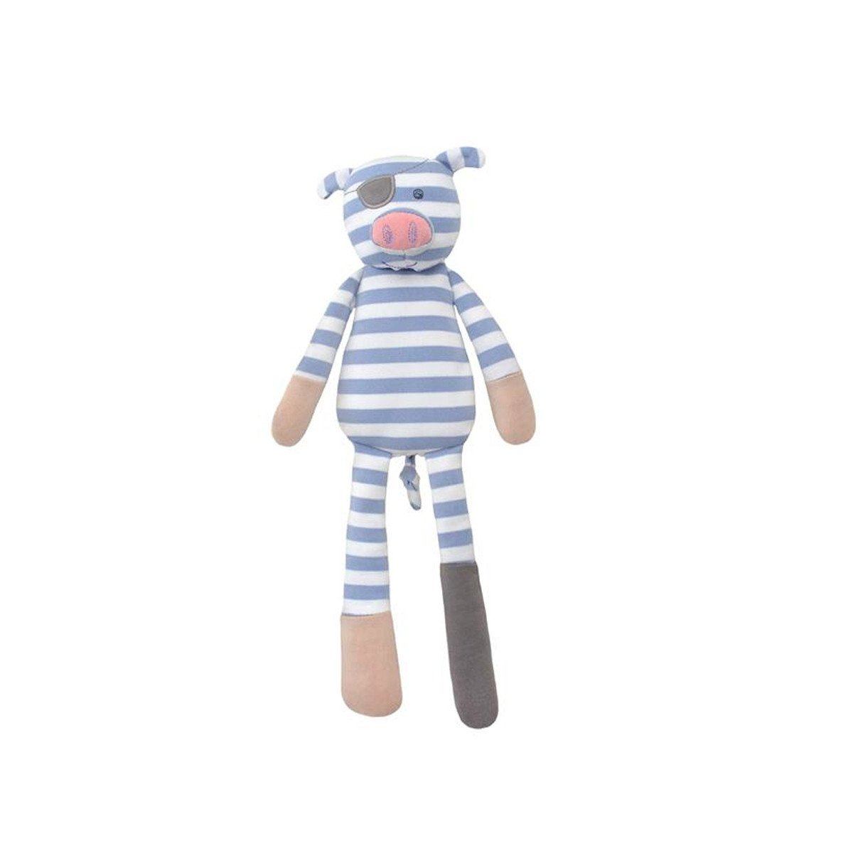 Apple Park Organic Plush Toy Apple Park Organic Baby Gifts Pirate Pig at Little Earth Nest Eco Shop