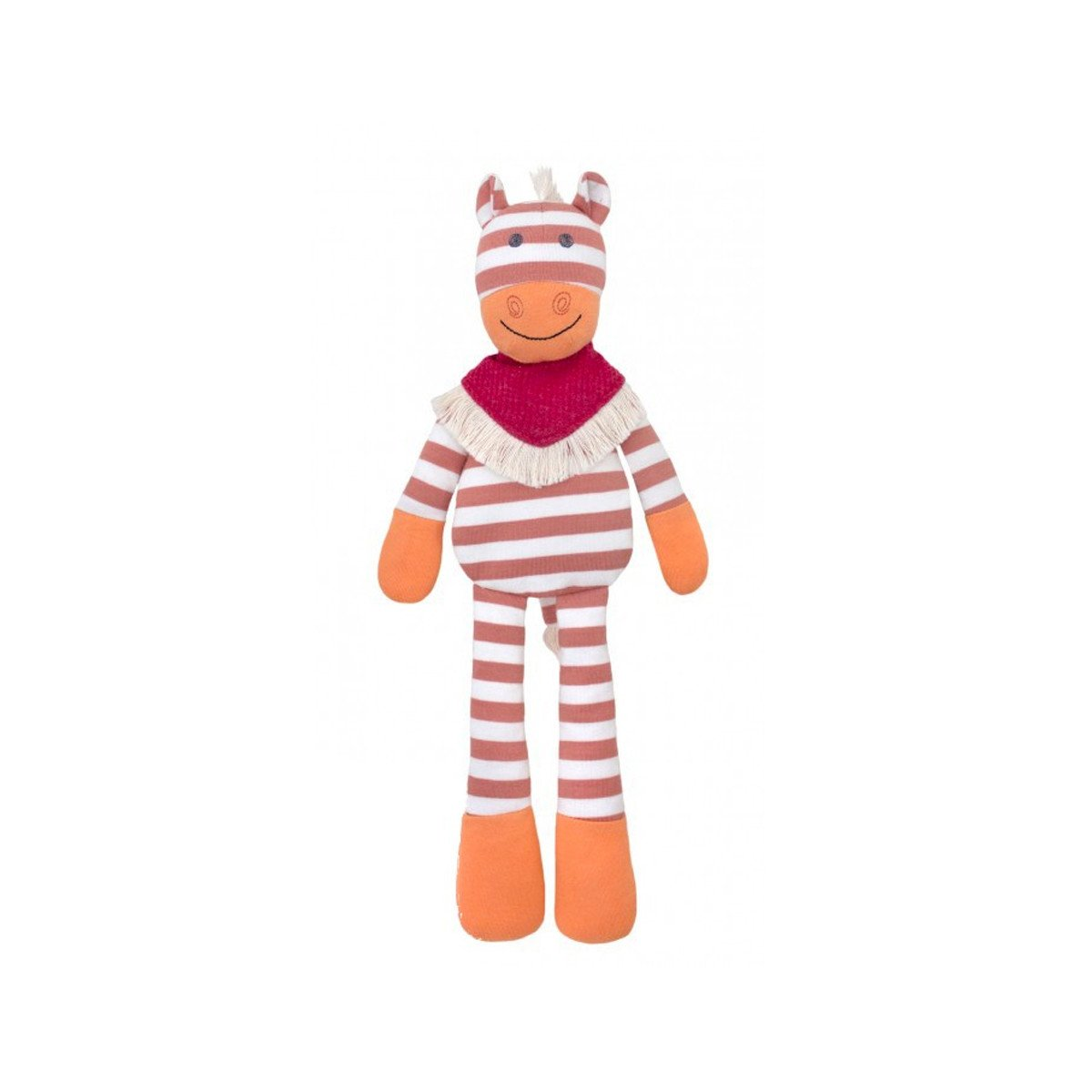Apple Park Organic Plush Toy Apple Park Organic Baby Gifts Poncho Pony at Little Earth Nest Eco Shop