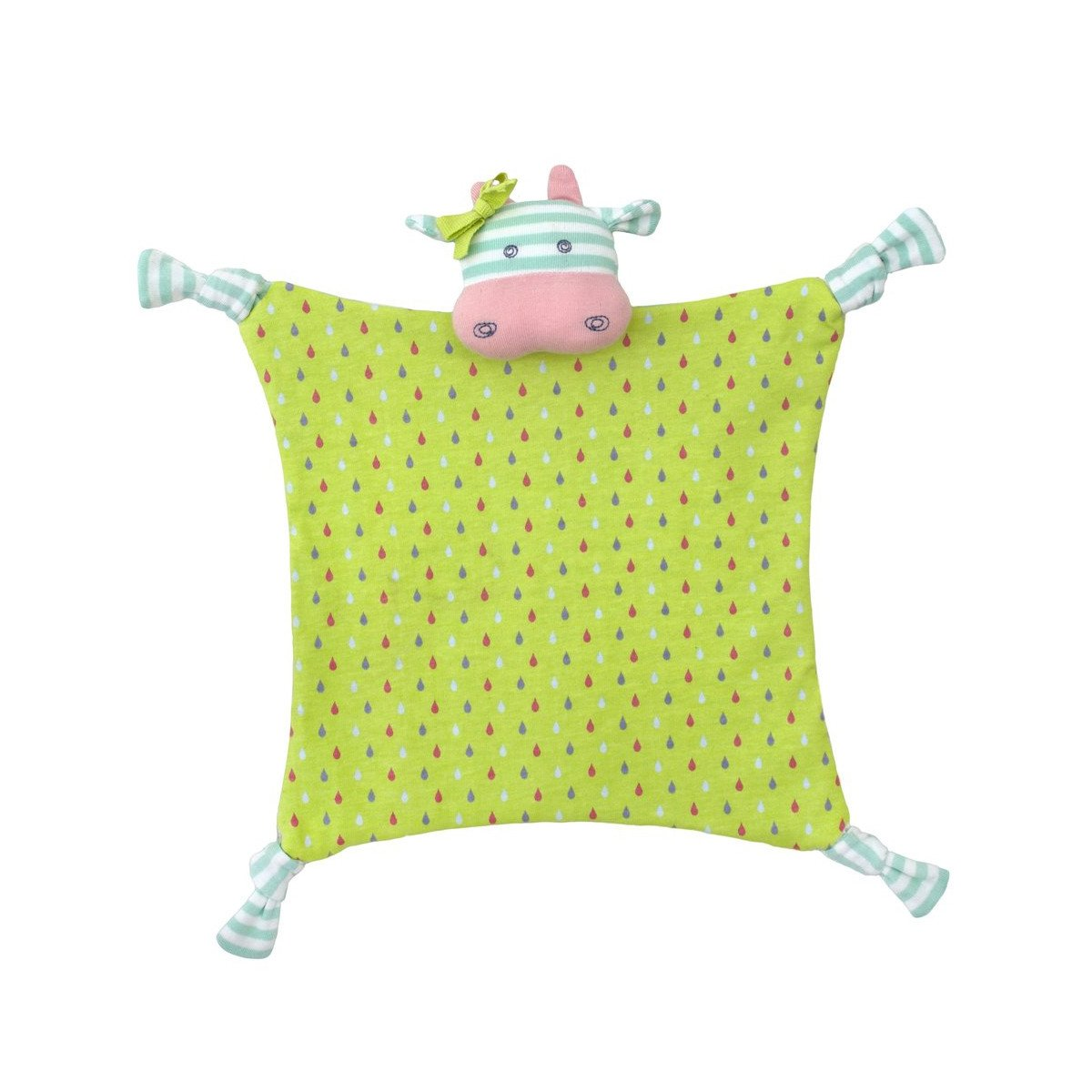 Apple Park Organic Teether Blankie  Belle Cow - Apple Park Organic - Little Earth Nest - 8