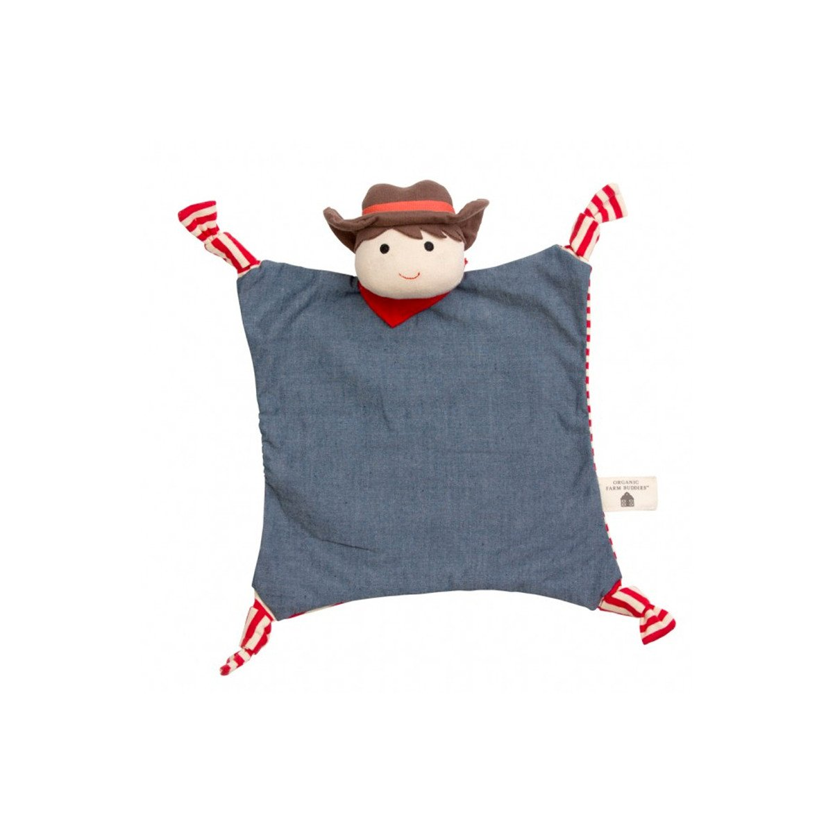 Apple Park Organic Teether Blankie  Billy Barnyard - Apple Park Organic - Little Earth Nest - 9
