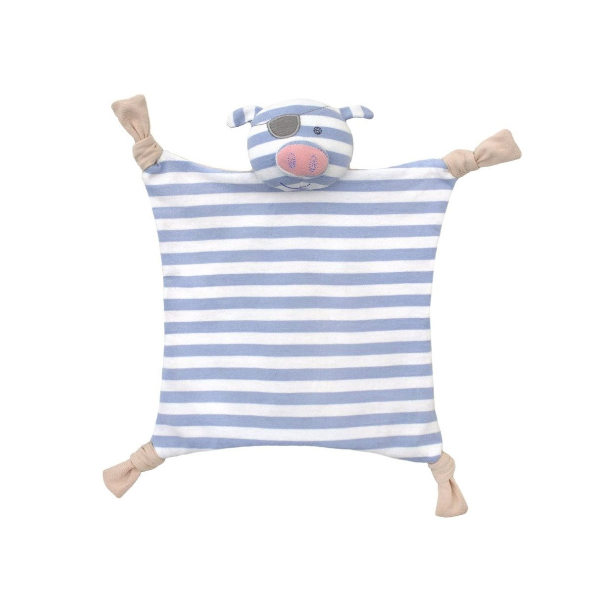 Apple Park Organic Teether Blankie  Pirate Pig - Apple Park Organic - Little Earth Nest - 4