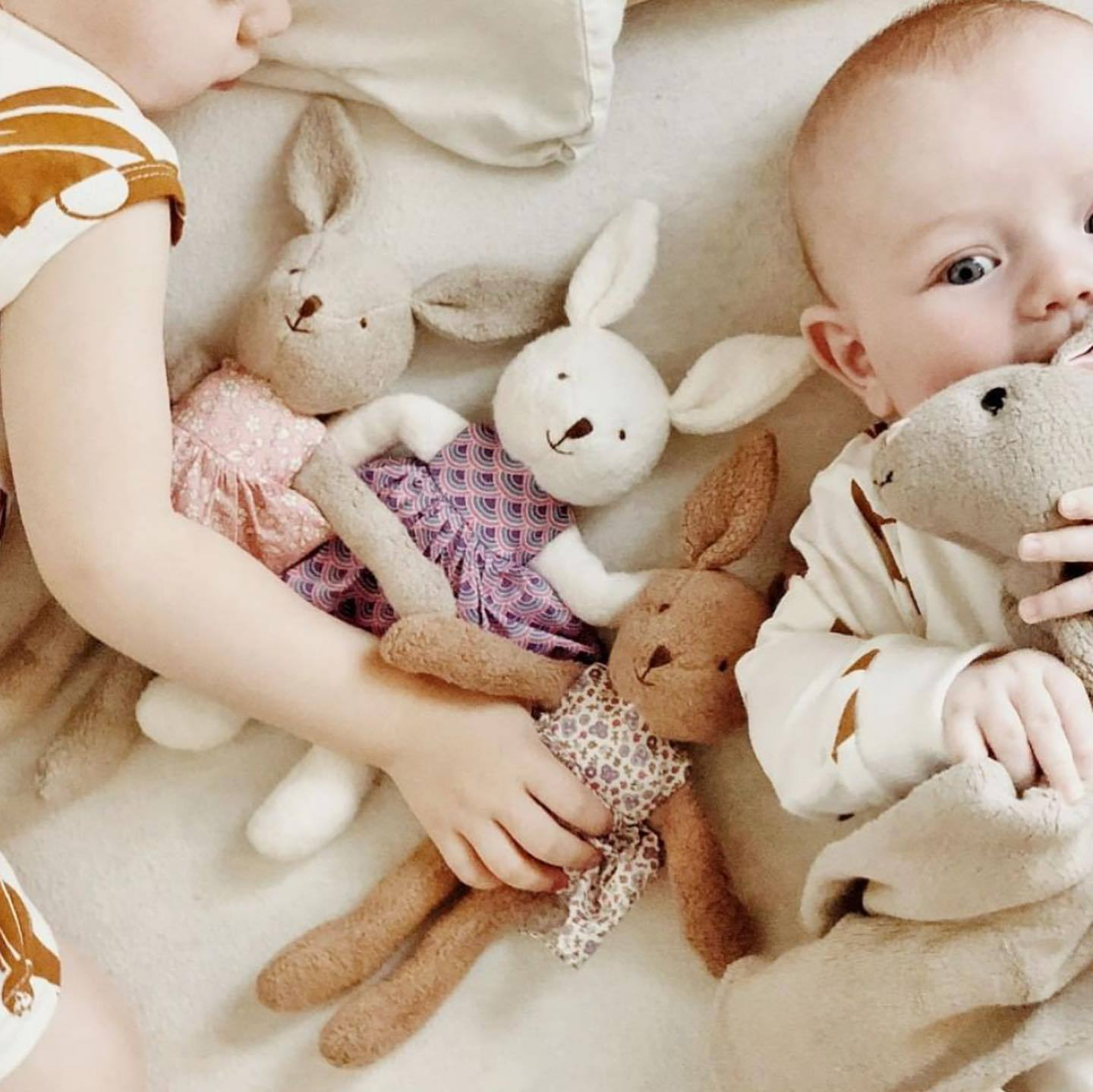 Apple Park Organic Baby Bunny Apple Park Organic Soft Toys at Little Earth Nest Eco Shop