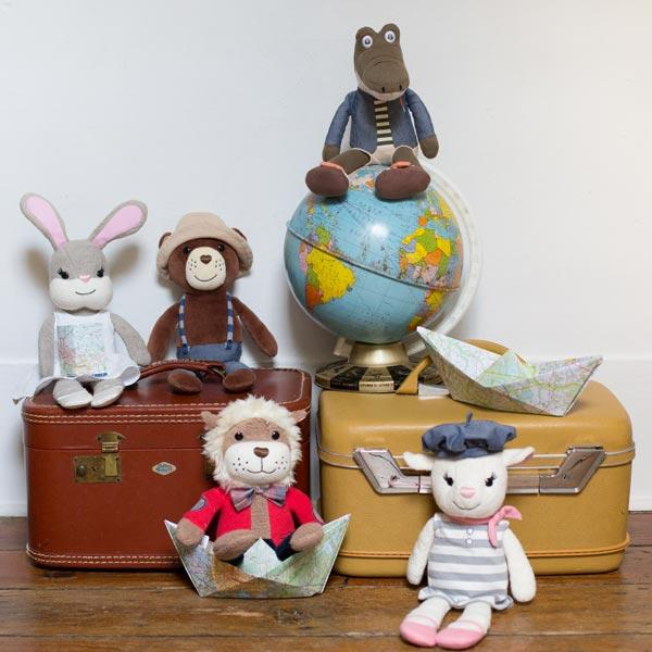 Apple Park Organic Plush Toys City Pals Apple Park Organic Soft Toys at Little Earth Nest Eco Shop