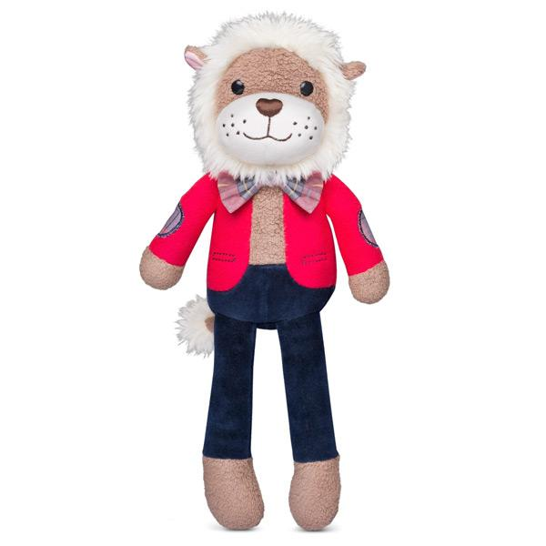 Apple Park Organic Plush Toys City Pals Apple Park Organic Soft Toys Professor Dandy Lion at Little Earth Nest Eco Shop