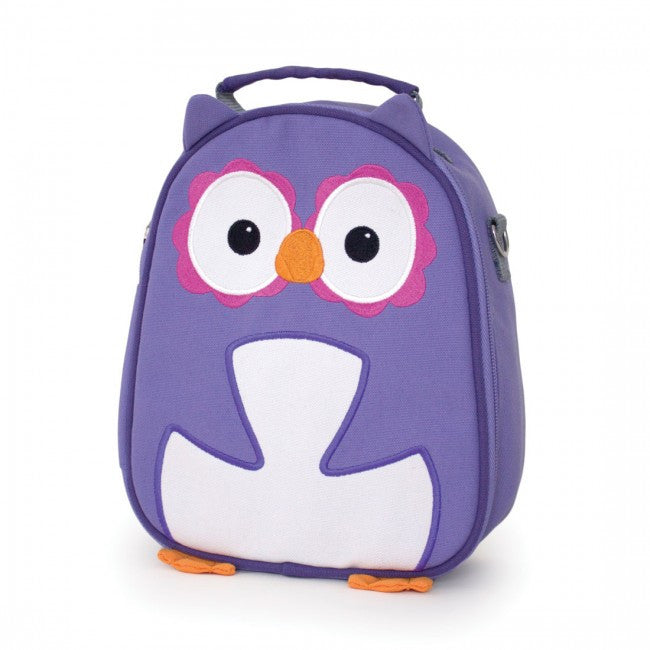 Apple Park Recycled PET Picnic Pal Lunch Bags  Purple Owl - Apple Park Organic - Little Earth Nest - 5