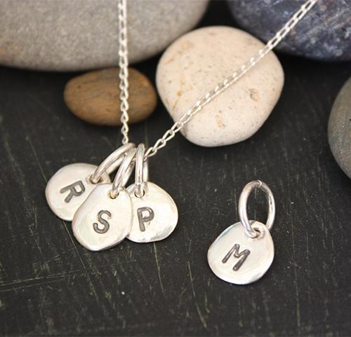 Individual Appleye Letter Pebble Appleye Jewellery Designs Jewellery at Little Earth Nest Eco Shop