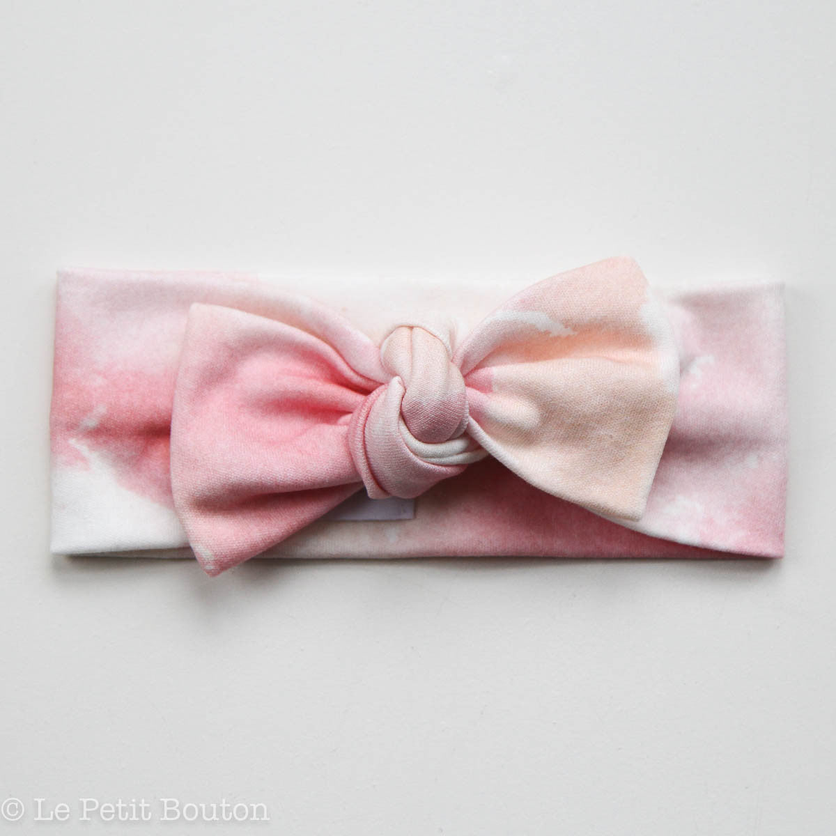 Bow Knot Headband Le Petit Bouton Baby & Toddler Clothing Faith at Little Earth Nest Eco Shop