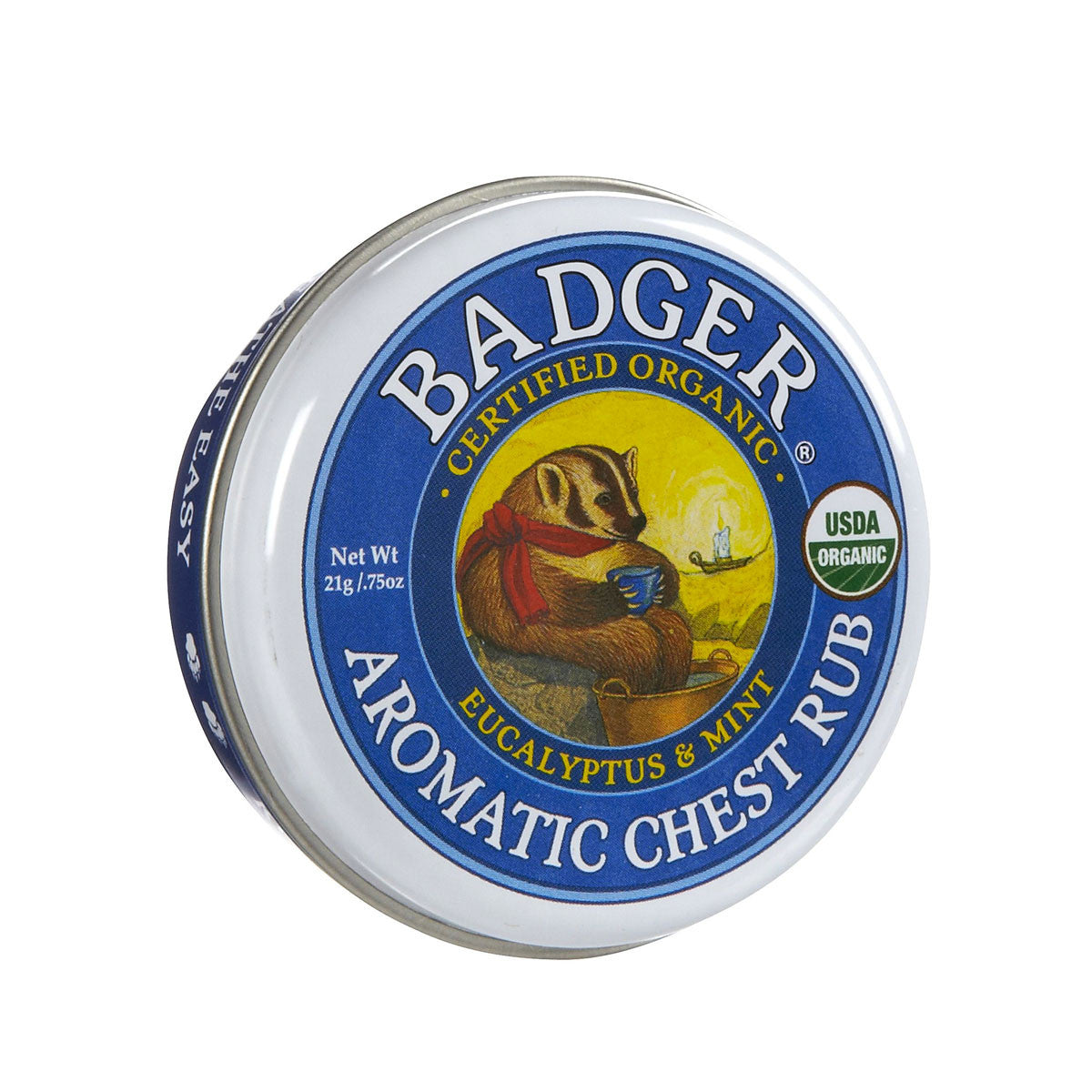 Badger Winter Wonder Aromatic Chest Rub Badger Vapour Rubs at Little Earth Nest Eco Shop