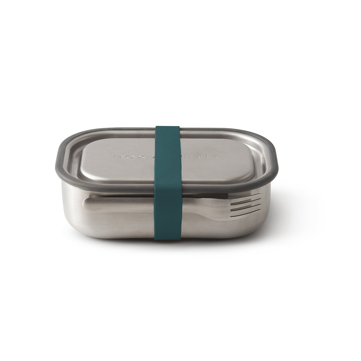 Stainless Steel Lunch Box by Black and Blum Black + Blum Lunch Boxes and Bags Ocean Blue at Little Earth Nest Eco Shop