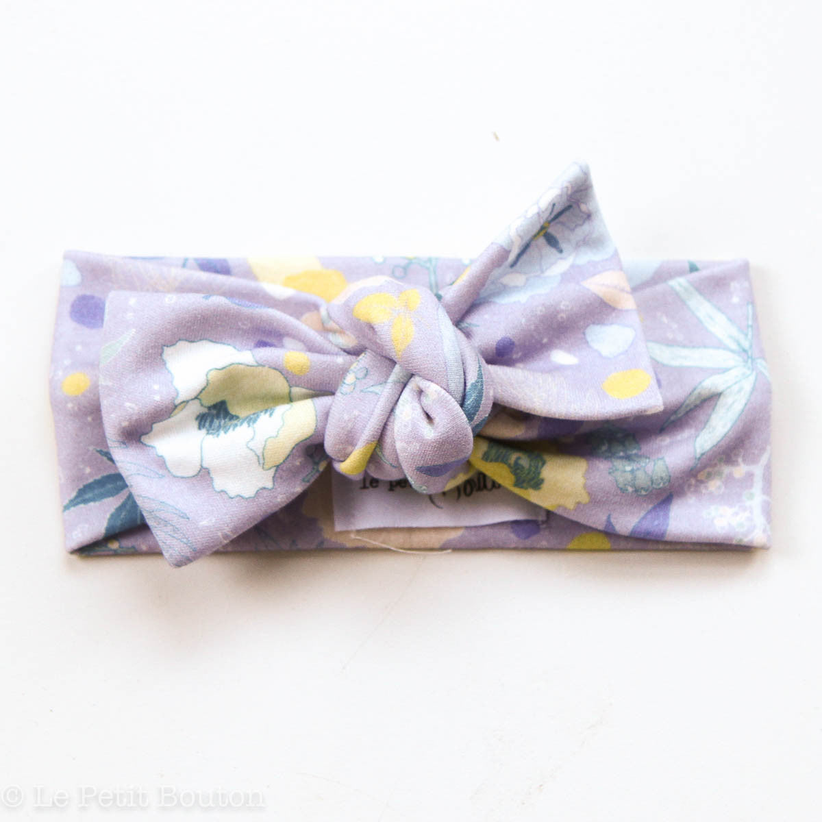 Bow Knot Headband Le Petit Bouton Baby & Toddler Clothing Poppie at Little Earth Nest Eco Shop