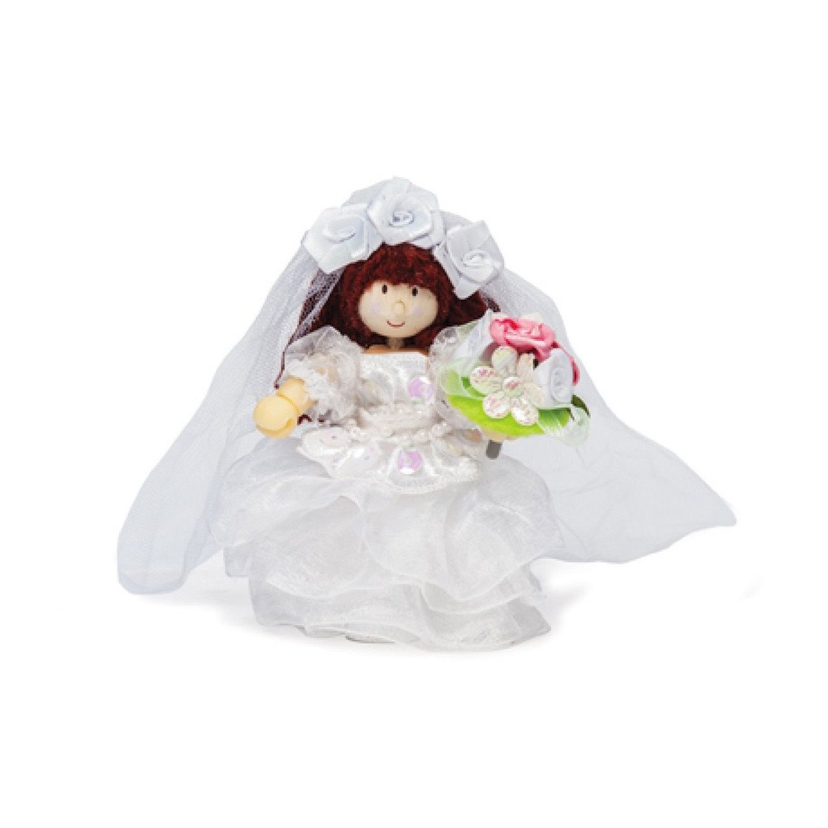 Le Toy Van Budkins Individual Doll House People Le Toy Van Pretend Play Bride at Little Earth Nest Eco Shop